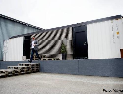 Spinderihallerne udvides med stort container-byggeri