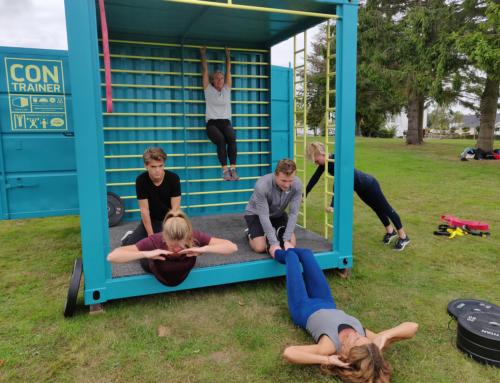 Container Living udvider produktporteføljen ved opkøb af CONtrainer – et udendørs fitness