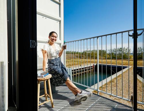 Jin Yang fra Singapore: Jeg føler mig hjemme i en container i Danmark