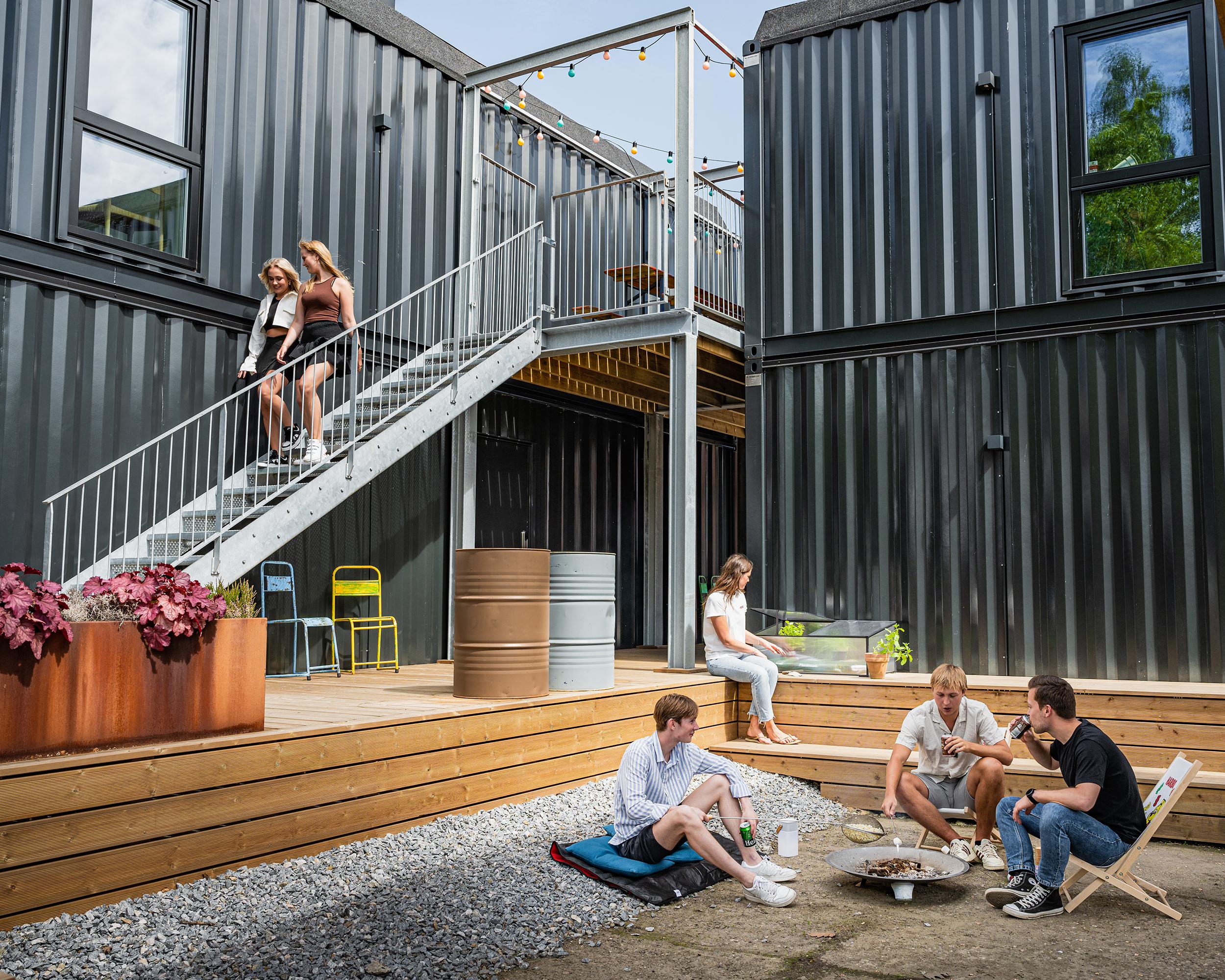 Udemiljø   Container Living